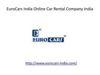 Euro Cars India Online Car Rental Company India