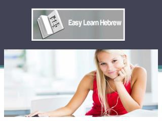 Easy Learn Hebrew -learn Hebrew alphabet