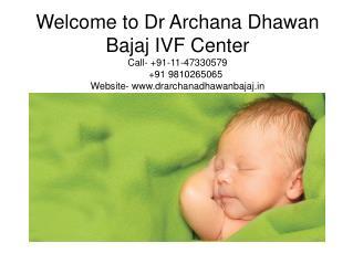 IVF Doctor Archana Dhawan Bajaj