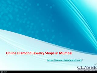 Online Diamond Jewelry Shops in Mumbai