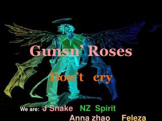 Gunsn  Roses