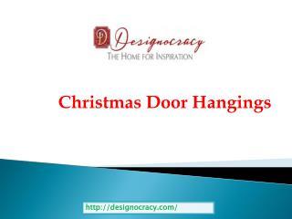 Christmas Door Hangings