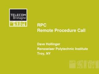 RPC Remote Procedure Call