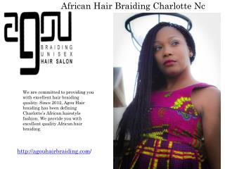 Cheap Hair Braiding Salons Charlotte