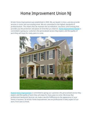 Home Improvement Avenel