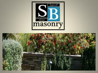 Masonry Contractor Services in san diego