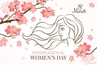 Happy International Women's Day from Noplag.com Team!