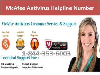 McAfee-Antivirus-Support-1-844-353-6003-Tech-Support-Number