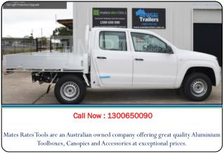 Aluminium Ute Trays Brisbane, QLD