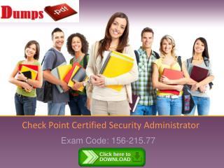 Dumpspdf 156-215.77 PDF Dumps