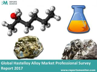 Global Hastelloy Alloy Industry Share and Analysis Report 2017