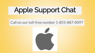 Apple Support Chat - Online Service Provider