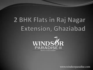 2 bhk flat in raj nagar extension