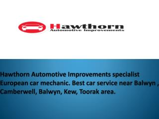 Get car service in balwyn from a reputed automotive repair shop
