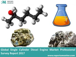 Single Cylinder Diesel Engine Industry Trend Analysis Report 2017