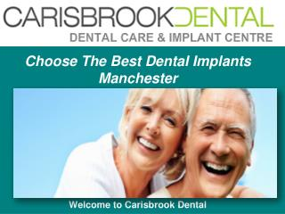 Special Offers on Dental Implants in Manchester