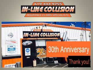 Auto collision repair La Mesa