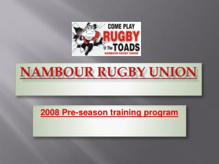 Nambour Rugby Union