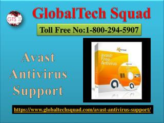 Avast Antivirus Support in USA |Toll Free 1-800-294-5907