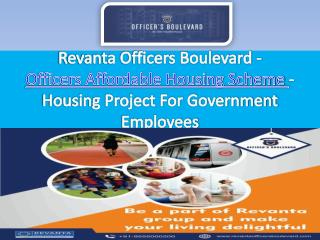 Government Officers Homes - Revantaofficersboulevard