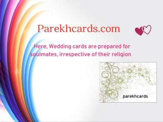 Beautiful Wedding cards Information