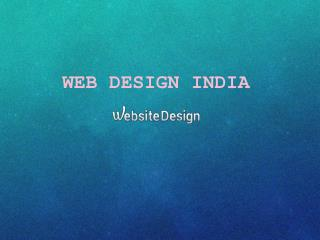 Web Design Service India - webdesignindia.net