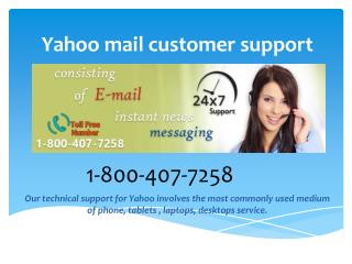yahoo mail customer support