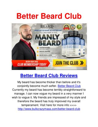 Better Beard Club