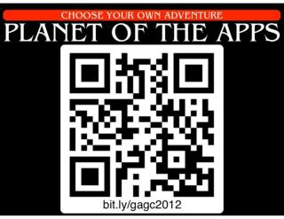 PLANET OF THE APPS GAGC 2012