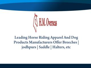 Breeches Manufacturers