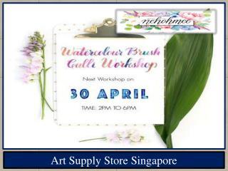 Art Supply Store Singapore