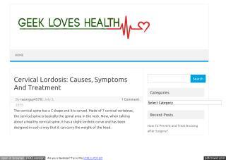 lordosis symptoms