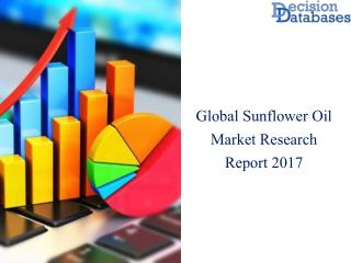 Worldwide  Sunflower Oil  Market Manufactures and Key Statistics Analysis 2017