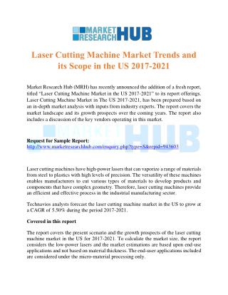 Laser Cutting Machine Market Trends Report