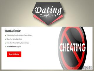 Online dating scams - Expose homewreckers and cheaters