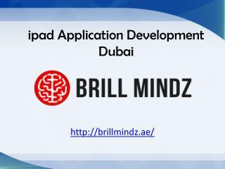 ipad application development Dubai