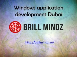 Windows app development company Dubai
