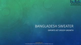 Bangladesh sweater