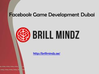 facebook game development Dubai