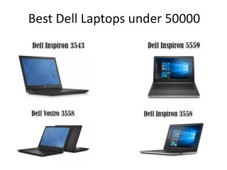 Dell laptop under 50000