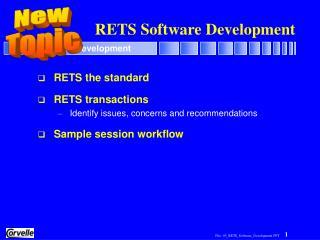 RETS Software Development