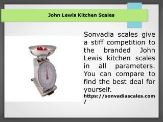 John Lewis Kitchen Scales