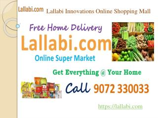 Lallabi Online shopping mall