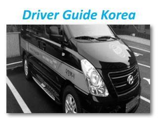 Driver Guide Korea
