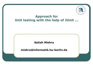 Approach for Unit testing with the help of JUnit ...