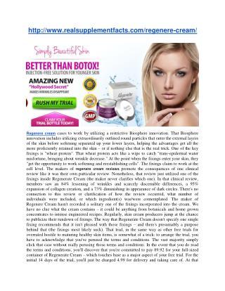 http://www.realsupplementfacts.com/regenere-cream/