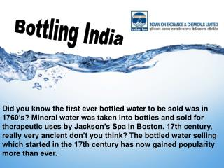 The Reason for Ever Green Market of Mineral Water Plant in Today's World