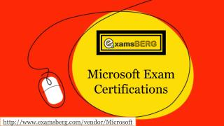Get Real Exam Question And Answers For Microsoft