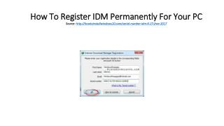 How To Register IDM Permanently