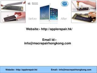 Cracked iPad Repair Hong Kong